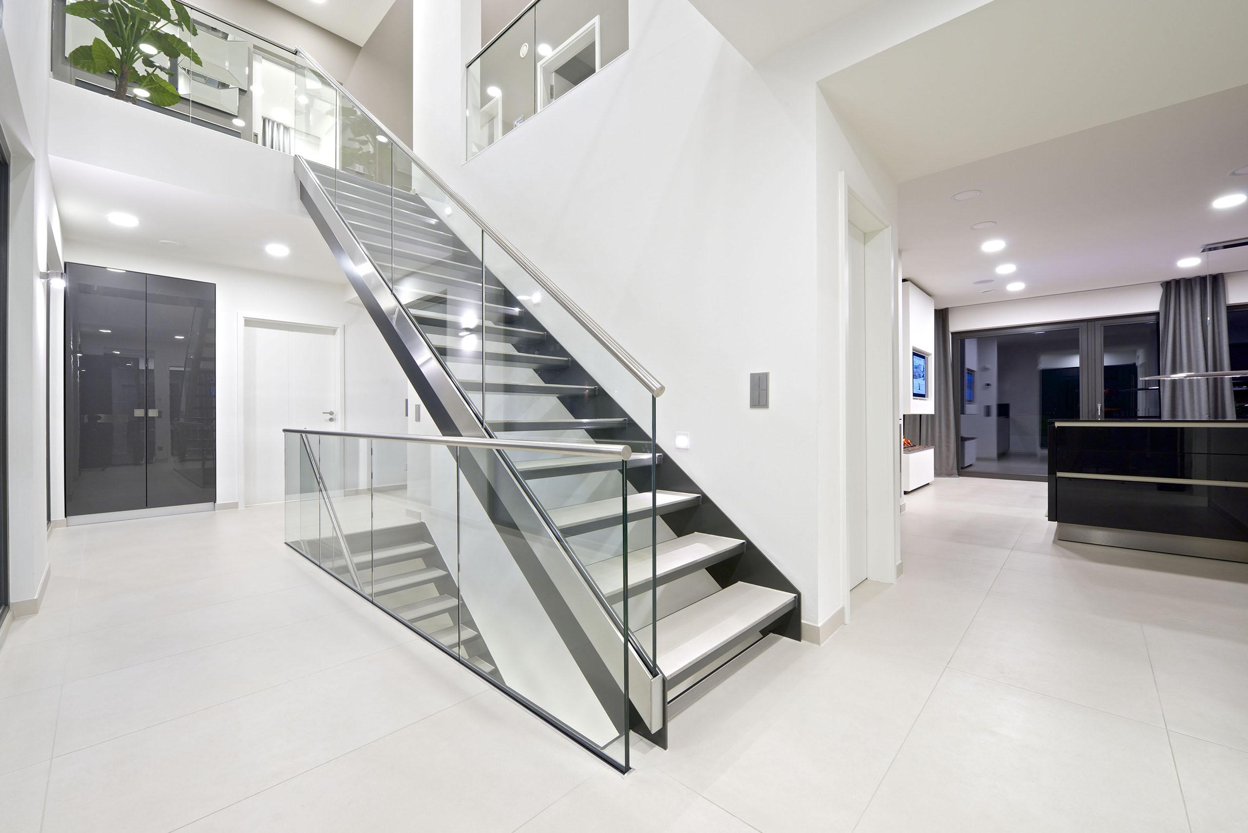 Modernes Wohndesign Schön Beton Treppe Dekor Modernes Wohndesigns ...